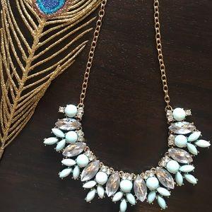 Mint/Light Green Chunky Necklace